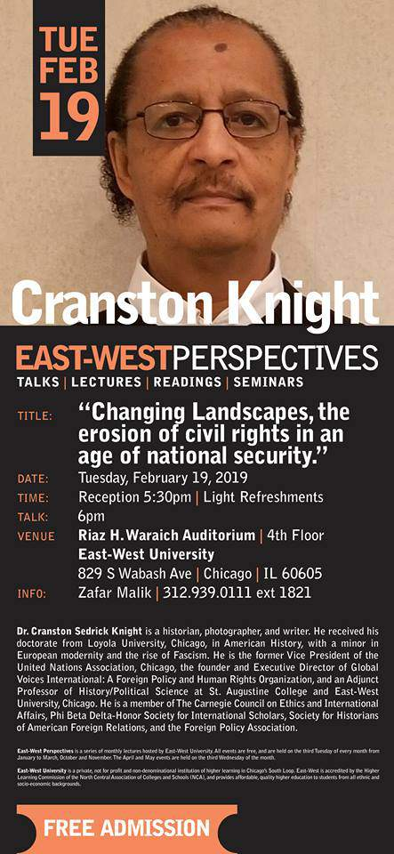 East-West Perspectives: Cranston Knight