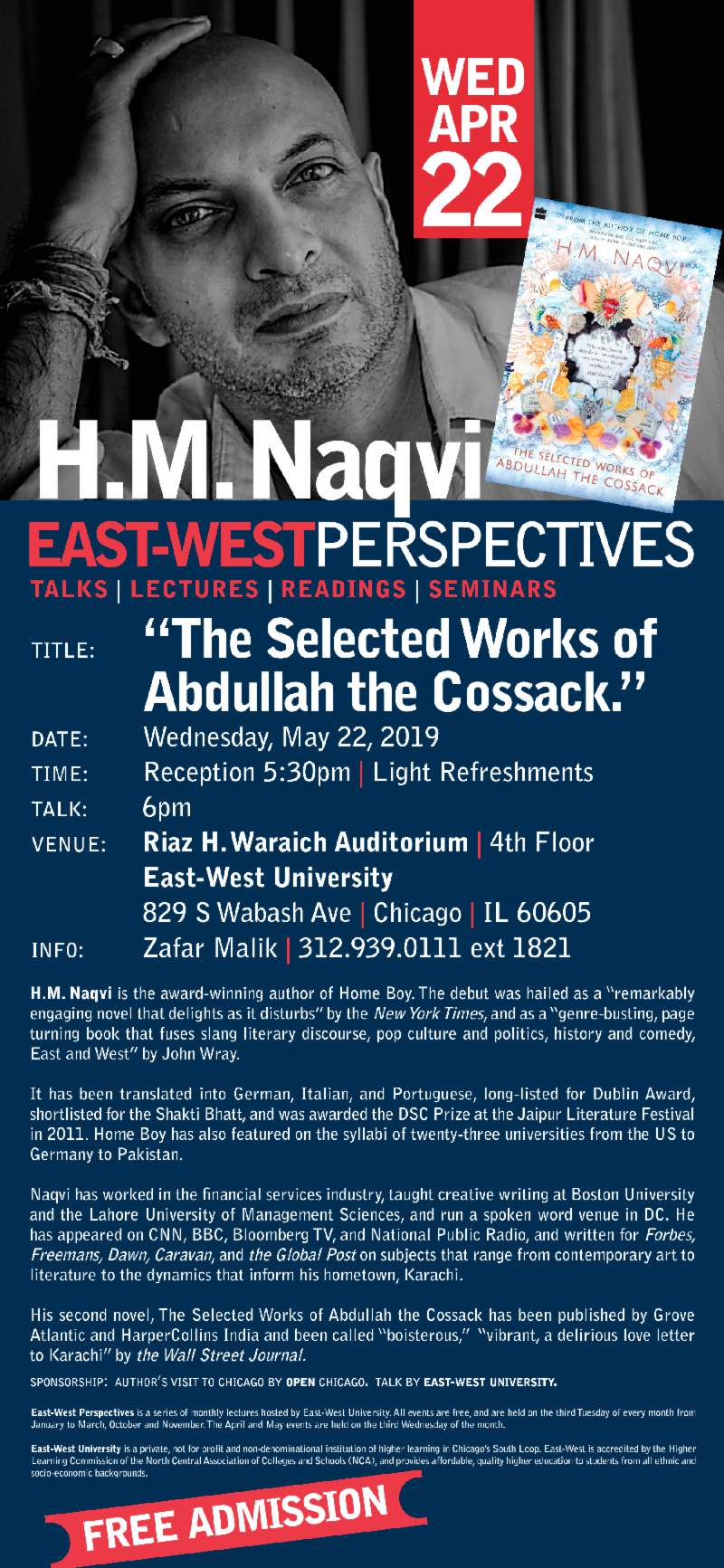 East-West Perspectives: H.M Naqvi